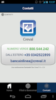 Screenshot of CrevalApp