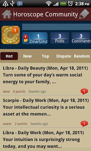 Horoscope Community