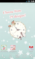 Screenshot of *sweet* Analog Clock Widget