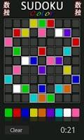 Screenshot of Sudoku Color