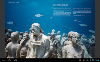 Screenshot of Scuba Diver Magazine