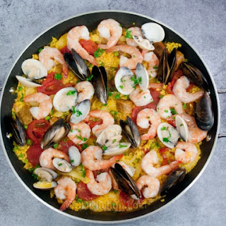 Shrimp And Sausage Paella