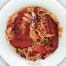Spaghetti with Lobster, Chiles, and Mint