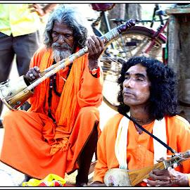 Boul Singers by Avijit Saha - People Musicians & Entertainers