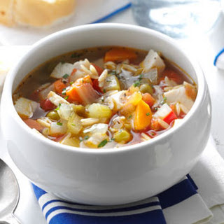 Turkey Vegetable Soup Taste Of Home Recipes