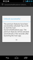 Screenshot of DynamicNotifications Unlocker