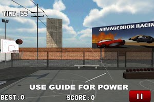 Screenshot of BasketBall Hoops Free 2
