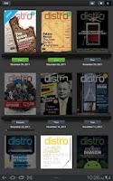 Screenshot of Engadget Distro