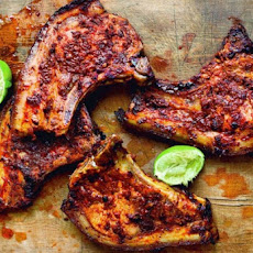 Adobo Marinated Pork Chops