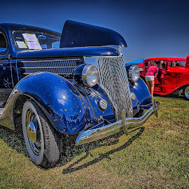 1936 Ford Deluxe by Ron Meyers - Transportation Automobiles