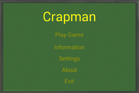 Crapman Free - Phone version - screenshot