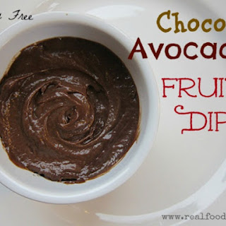 Chocolate Avocado Fruit Dip