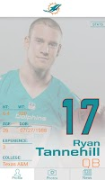 Screenshot of Official Miami Dolphins