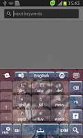 Screenshot of Black Rose Keyboard