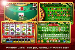 Screenshot of BlackJack Roulette Poker Slot