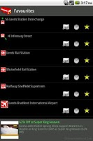 Screenshot of UK Live Train and Bus Times