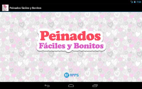 App peinados faciles y bonitos apk for windows phone - Peinados faciles y bonitos ...