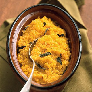 Baked Sage-and-Saffron Risotto