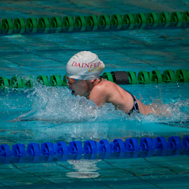 breaking records by Pax Bell - Sports & Fitness Swimming ( breast stroke )