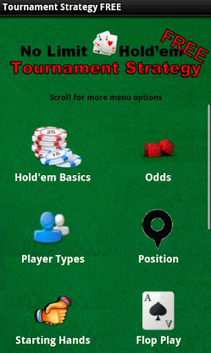 No-Limit Poker Strategy FREE