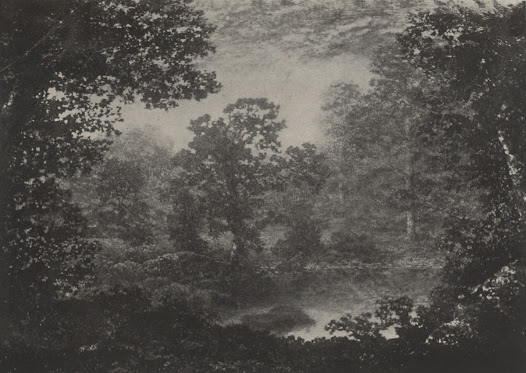 """Illustration of Blakelock's <i>Landscape</i> from the George A. Hearn auction <a href=""""http://arcade.nyarc.org/record=b1376053~S1"""">catalogue</a>."""