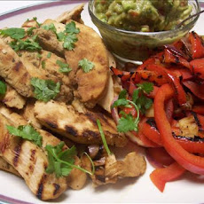 Leftover Chicken or Beef Fajitas With Fresh Guacamole