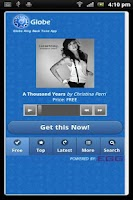 Screenshot of Globe Ringback Tone
