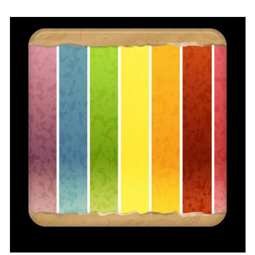 彩色桌布 LOGO-APP點子