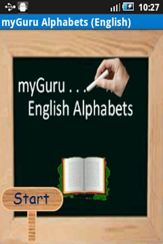 myGuru Alphabets English