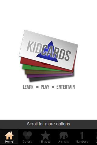 Kid Cards for toddlers
