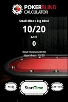 Screenshot of Poker Blinds Dealer