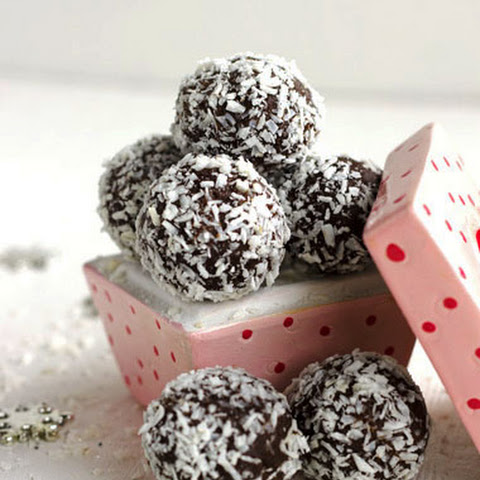 Almond Joy Avocado Truffles