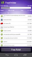 Screenshot of FreeRAMer
