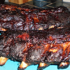 Smoked Ribs on the Grill