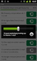 Screenshot of µTorrent®  Remote