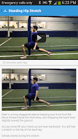 Screenshot of Flexibility Workout Exercises