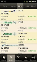 Screenshot of CTA Flights