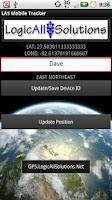 Screenshot of LAS MobileTracker XS