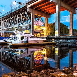 Granville Island by Stephen Bridger - City,  Street & Park  Neighborhoods ( granville island, canada, granville, travel, bc, vancouver, travel photography, british columbia )