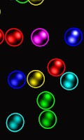Screenshot of Rainbow bubbles free lwp