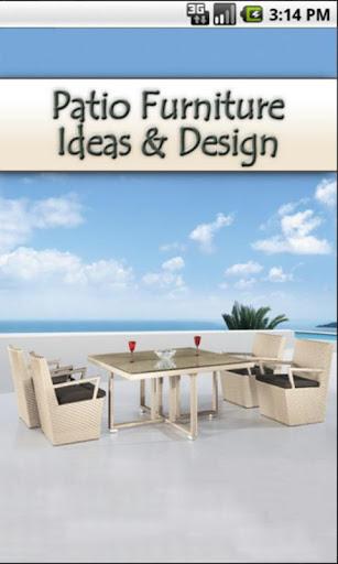 Patio Furniture Ideas Design