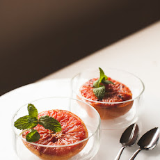 Grand Marnier Broiled Grapefruit