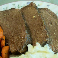 V's Crock Pot Bottom Round Roast