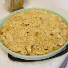 Oatmeal Topped Apple Pie