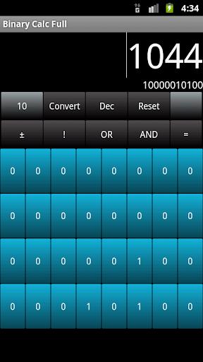 Binary Calc Lite Converter