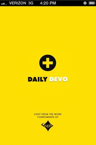 Daily Devo