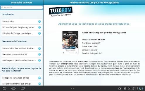 App Tuto Photoshop Photographes APK for Windows Phone