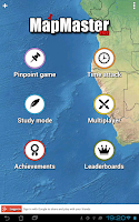 Screenshot of MapMaster Free -Geography game