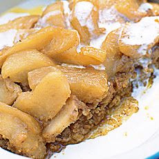 No-bake Sticky Toffee Apple Tart Recipe