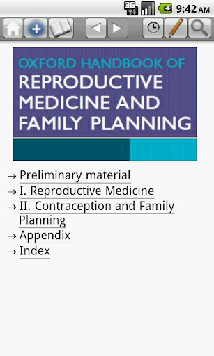 Oxford Handbook of Reprod. Med